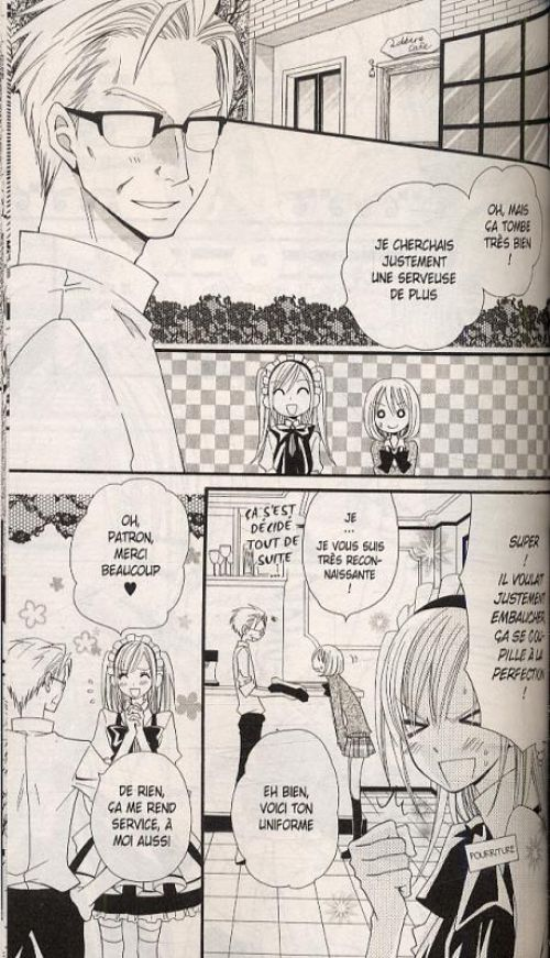 Lily la menteuse T3, manga chez Delcourt de Komura