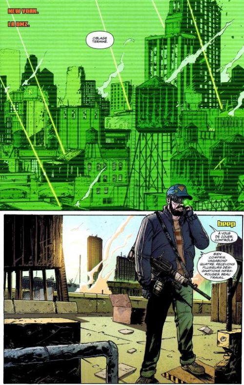 DMZ – Edition Hardcover, T10 : Châtiment collectif (0), comics chez Urban Comics de Wood, Mutti, Zezelj, Fox, Lapham, Chiang, Cox