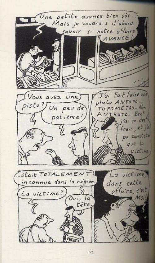 Un Privé à la cambrousse T3, bd chez Gallimard de Heitz