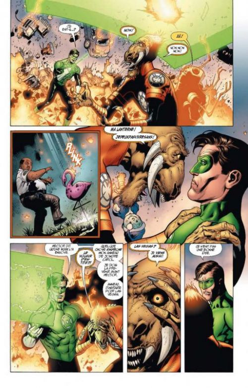 Green Lantern Saga – Hors série, T1, comics chez Urban Comics de Johns, Mahnke, Eltaeb, Baron, Syaf