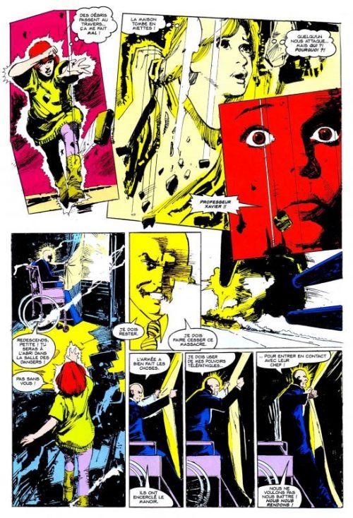 X-Men (revue) – Classic, T3 : L'ours démon (0), comics chez Panini Comics de Claremont, Sienkiewicz, Wein