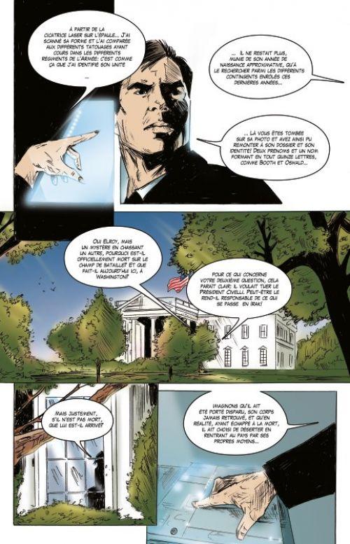 Synchronicity T1 : La malédiction Kennedy (0), comics chez Du café sur la planche de Fred, Mendes, Dee