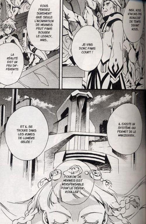 Tales of legendia T3, manga chez Ki-oon de Fujimura