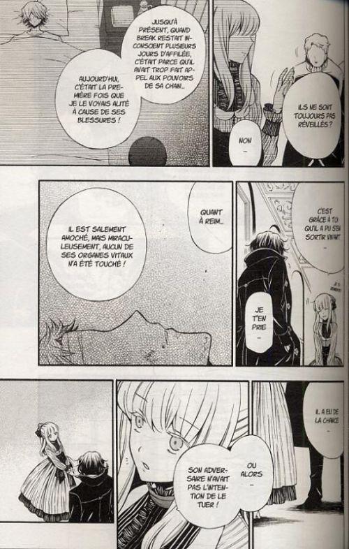 Pandora Hearts T15, manga chez Ki-oon de Mochizuki