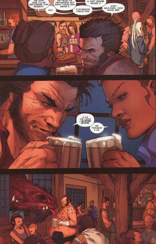 Wolverine (revue) – Revue V 3, T4 : Rien d'impossible (0), comics chez Panini Comics de Aaron, Bachalo, Garney, Bradshaw, Keith, Ponsor