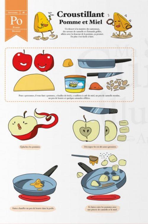 Ma Cuisine Illustrée : Automne (0), bd chez Ankama de Kness, Kuru, HK, Lévêque, Made, Reuno, Lubee, Neyret, Yuio, Moineau, T, Montel, Nénent, Crowley