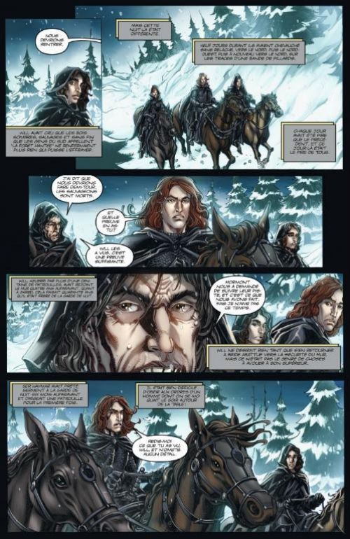 A Game of thrones T1 : Le trône de fer (0), comics chez Dargaud de Abraham, Martin, Patterson, Nunes, Ross