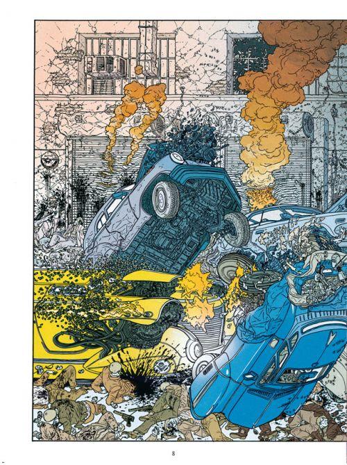 Hard Boiled, comics chez Delcourt de Miller, Darrow, Legris