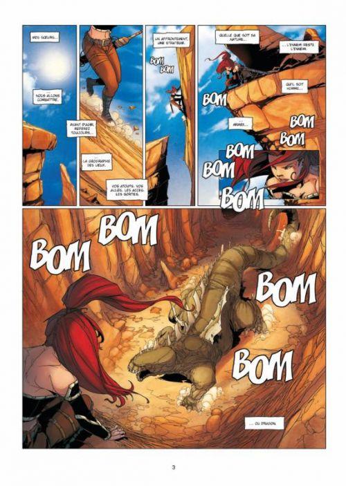 La geste des Chevaliers Dragons T15 : L'ennemi (0), bd chez Soleil de Ange, Boutin-Gagné, Paitreau