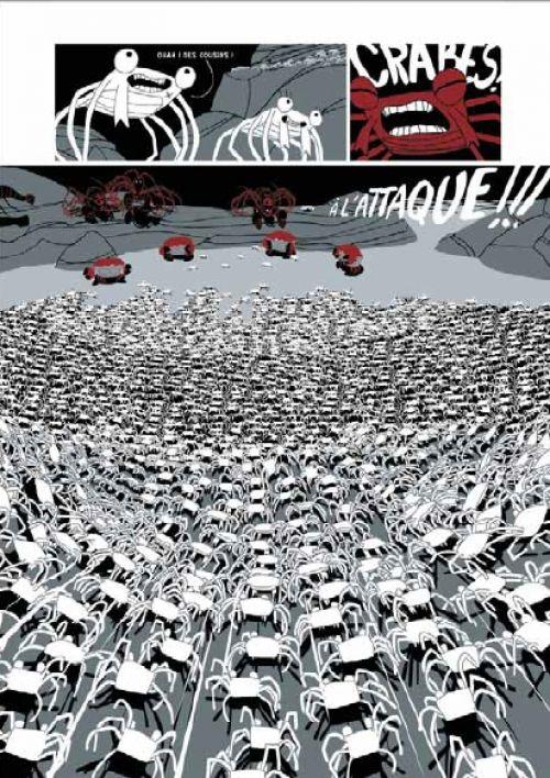 La marche du crabe T3 : La révolution des crabes (0), bd chez Soleil de de Pins