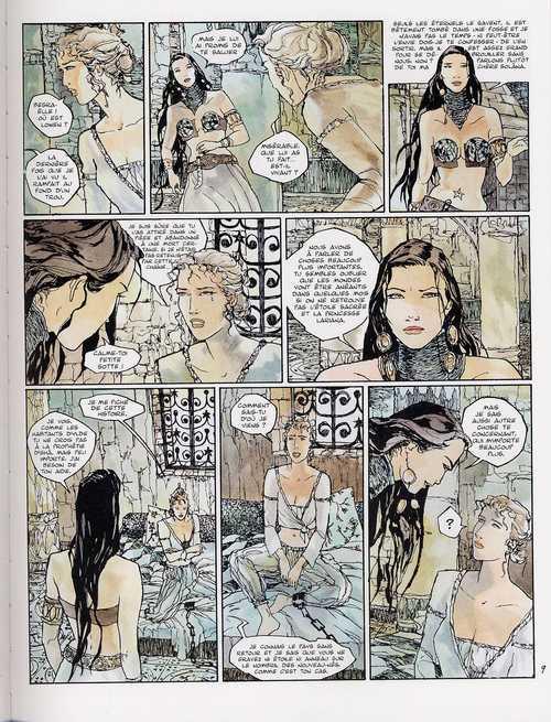 La prophétie des deux mondes T3 : Solâna (0), bd chez Albin Michel de Lenoir, Chabert