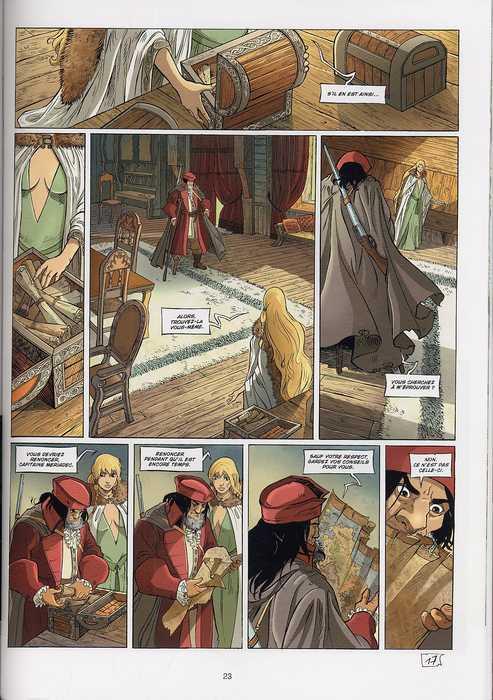 Le sang du dragon T1 : Au-delà des brumes (0), bd chez Soleil de Istin, Michel, Cordurié