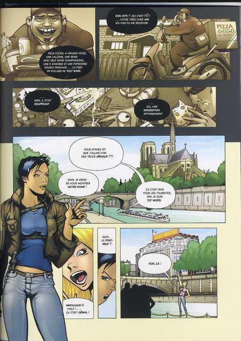 Léa Parker T1 : Victime de la mode (0), bd chez M6 Editions de Mauduit, Benes, Studio 2HB