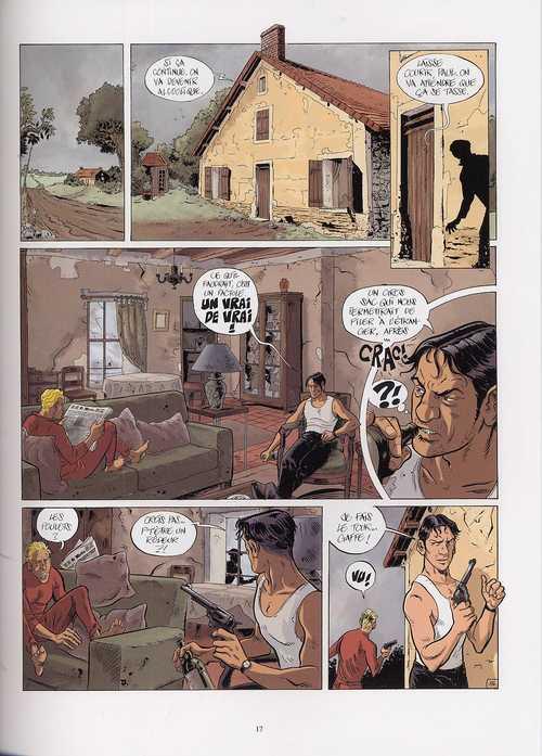 La trilogie Noire T1 : La vie est dégueulasse (0), bd chez Casterman de Malet, Bonifay, Daoudi, Schmitz