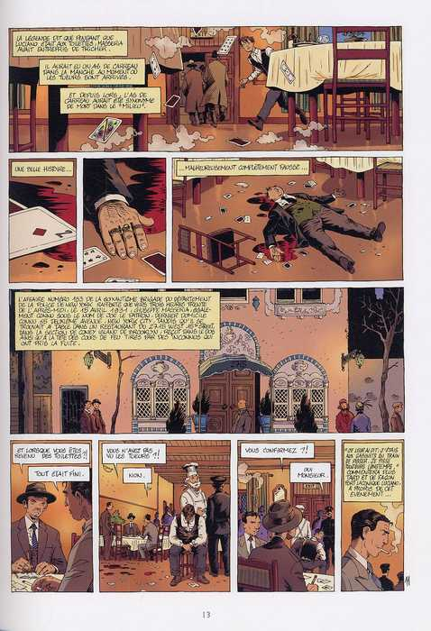 Deuxième époque ce qui est à nous T5 : Capo di tutti capi (0), bd chez Delcourt de Chauvel, Le Saëc, Smulkowski