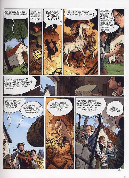 Le maître de pierre T2 : La chaise du diable (0), bd chez Dargaud de Bardet, Stalner, Hubert