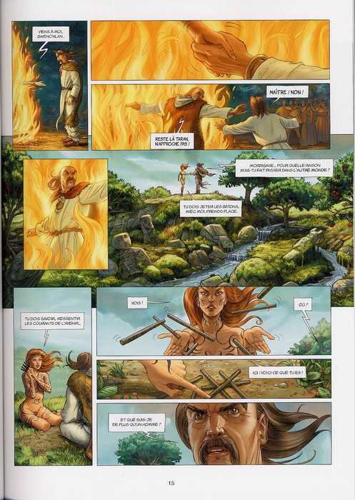 Les druides T1 : Le Mystère des Oghams (0), bd chez Soleil de Istin, Jigourel, Lamontagne
