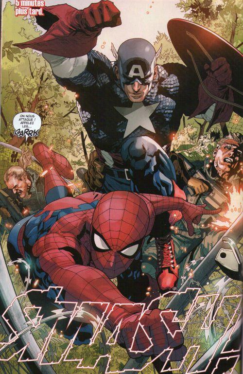 Spider-Man (revue) – V 3, T4 : Crimes en haut lieu (0), comics chez Panini Comics de Yost, Wells, Slott, Stegman, Yu, Camuncoli, Olazaba, Ramos, Janson, Delgado, Gracia, d' Armata