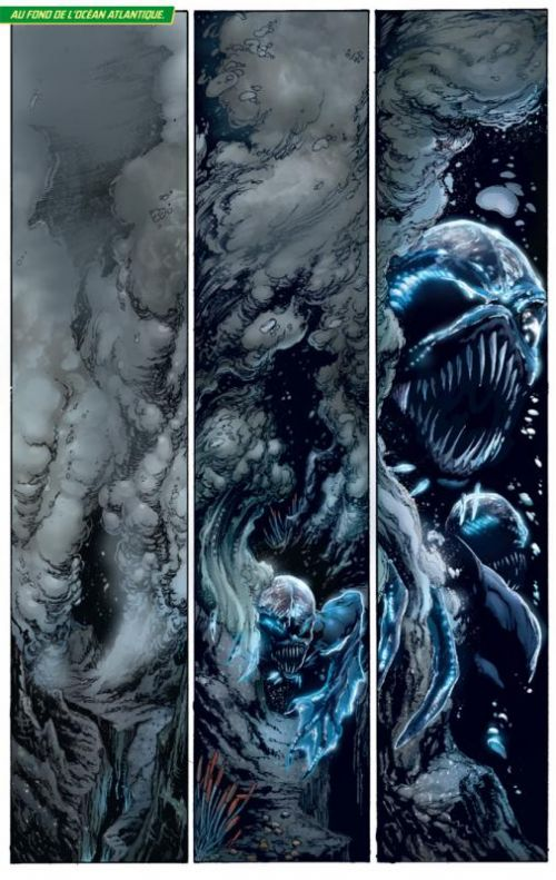 Aquaman T1 : Peur abyssale (0), comics chez Urban Comics de Johns, Prado, Reis, Reis