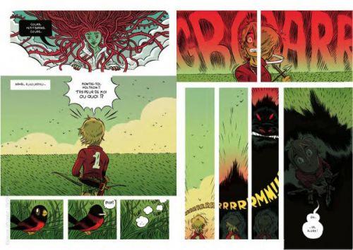 Le Héros T1, comics chez Rackham de Rubin