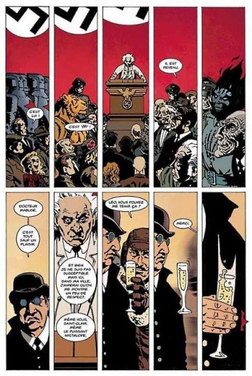 La Brigade Chimérique, comics chez L'Atalante de Collin, Serge Lehman, Gess, Bessonneau