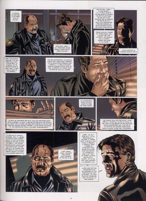 La Trilogie du mal T1 : Le bourreau de Portland (0), bd chez Jungle de Chattam, Montheillet, Aparo, Poggiali