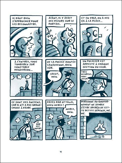 La Confrérie des cartoonists du Grand Nord, comics chez Delcourt de Seth