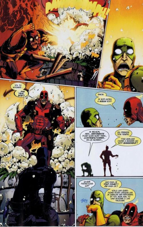 Deadpool (revue) – V 3, T3 : Opération annihilation (0), comics chez Panini Comics de Way, Barbieri, Dazo, Vella, Mossa, Filardi, Johnson
