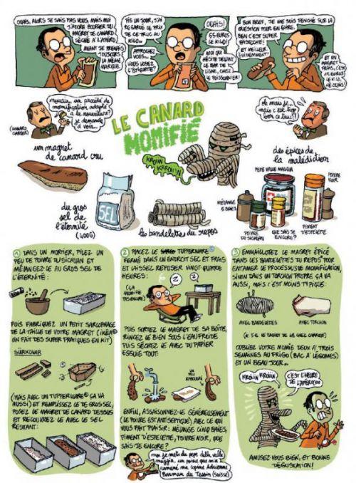 A boire et à manger T2 : Les pieds dans le plat (0), bd chez Gallimard de Long