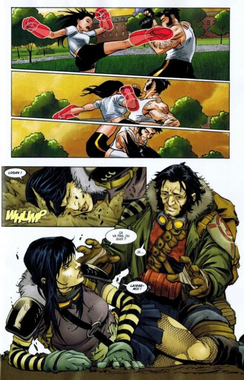 Wolverine (revue) – Hors série, T3 : Alpha & Omega (0), comics chez Panini Comics de Wood, Wiebe, Brooks, Scherberger, Hamscher, Boschi, Gandini, Brown, Pattison