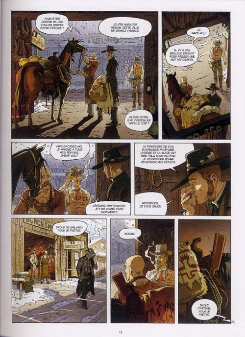 Le révérend T1 : Les diables déchus du Nevada (0), bd chez Emmanuel Proust Editions de Lylian, Lebon