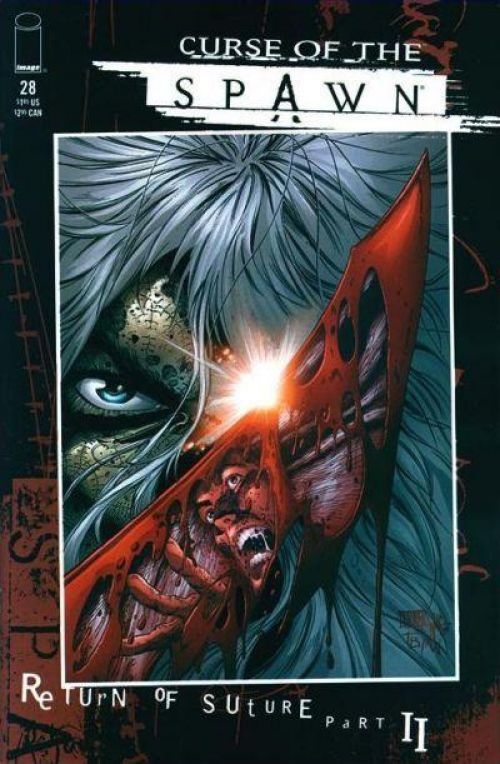 Spawn - Hors série – Curse of the Spawn, T10 : La malédiction de Spawn T9 (0), comics chez Semic de McEllroy, McFarlane, Crain, Glapion, Turner, Hutchinson, Fotos, Nicholas, Broeker