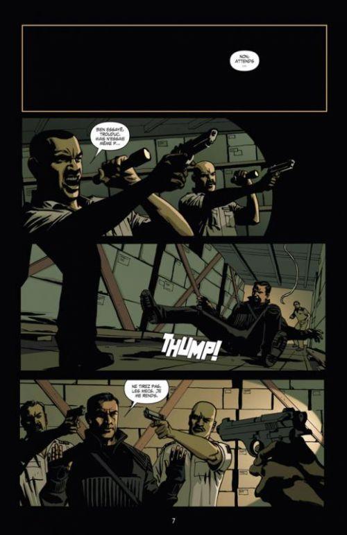 Le maître voleur T1 : J'arrête (0), comics chez Delcourt de Spencer, Kirkman, Martinbrough, Serrano