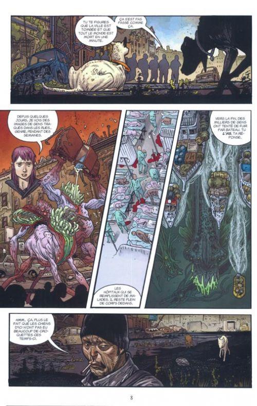 B.P.R.D. - L'enfer sur Terre T5 : Sur les ailes du diable (0), comics chez Delcourt de Mignola, Arcudi, Harren, Quiero, Campbell, Crook, Stewart, Sook