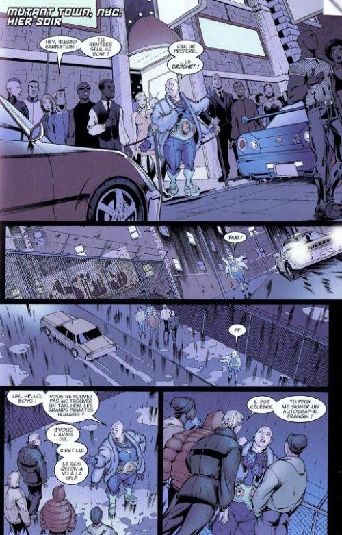 New X-Men T3 : Un vent de révolte (0), comics chez Panini Comics de Morrison, Quitely, Jimenez, Grant, Bachalo, Chuckry, McCraig