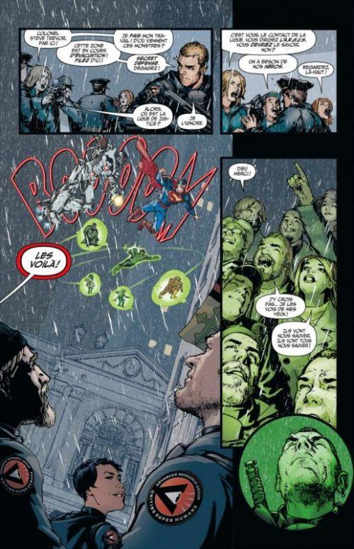 Justice League – New 52, T2 : L'odyssée du mal (0), comics chez Urban Comics de Johns, Finch, Ha, Reis, Van sciver, Lee, Rocafort, d' Anda, Aviña, Pantazis, Eltaeb, Oback, Lyon