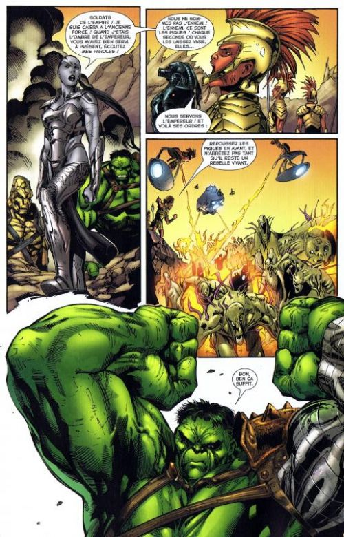 The Incredible Hulk T2 : Planète Hulk (2/2) (0), comics chez Panini Comics de David, Pak, Lopresti, Raiz, Pagulayan, Frank, Muniz, Nelson, Studio Impacto