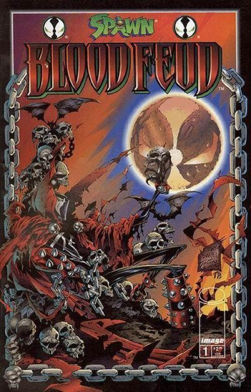 Planète Comics – Revue V 2, T4 : Spawn - Bloodfeud : La guerre du sang (0), comics chez Semic de Moore, Daniel, Conrad, Broeker