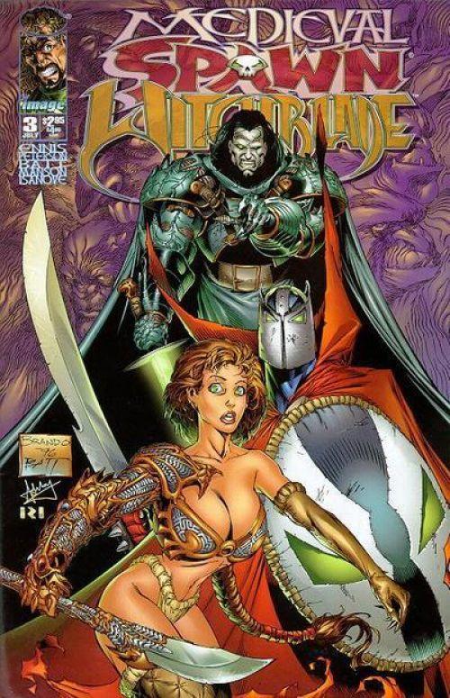 Planète Comics – Revue V 2, T1 : Medieval Witchblade (0), comics chez Semic de Ennis, Billy Tan Mung Khoy, Peterson, Wynn, Manson