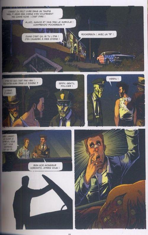 Rockabilly Zombie Superstar, bd chez Ankama de Nikopek, Lou