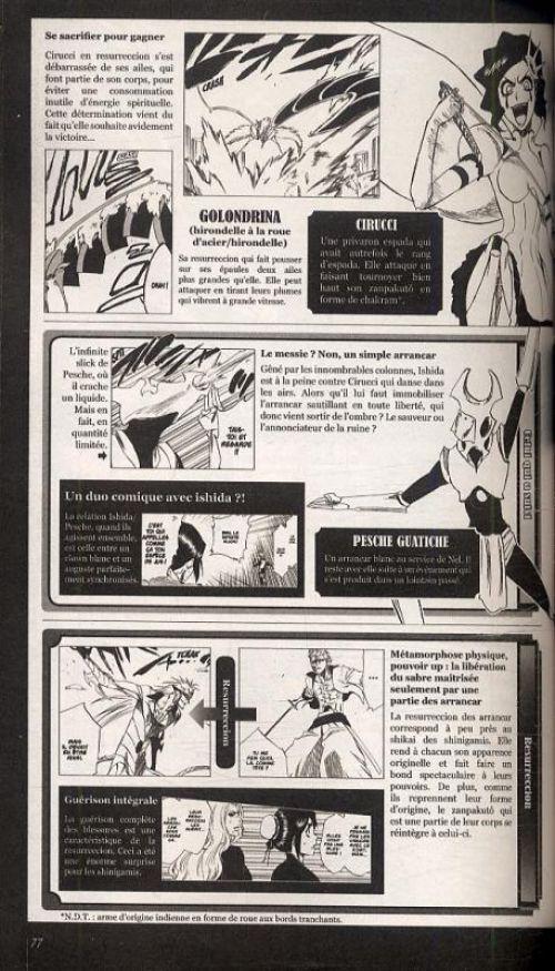 Bleach Unmasked, manga chez Glénat de Kubo
