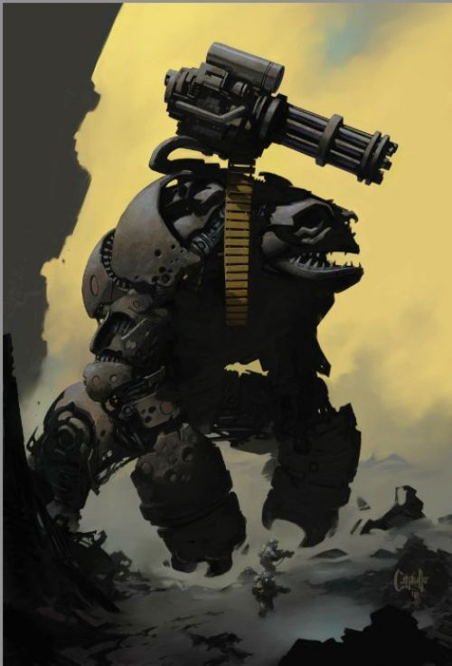 The art of Greg Capullo, comics chez Image Comics de Capullo