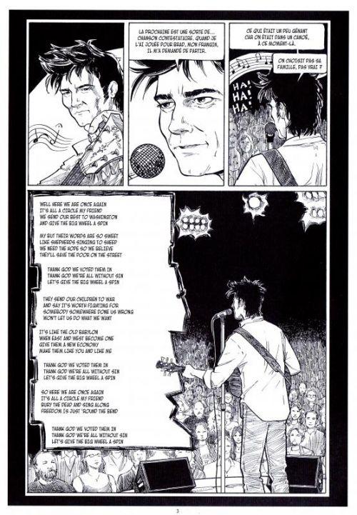 Strangers in paradise – cycle , T17 : Amour et Mensonges (0), comics chez Kyméra de Moore