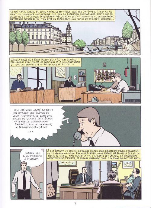 Une Histoire du 36 quai des orfèvres T1 : Le mystère HB (0), bd chez Editions Jacob-Duvernet de Dragon, Gillot, Cancès, Quievreux