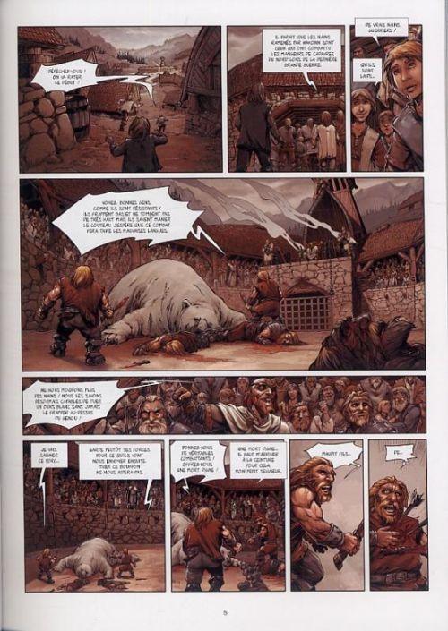 Mjöllnir T1 : Le marteau et l'enclume (0), bd chez Soleil de Peru, Goux, Digikore studio