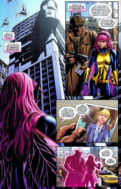 X-Men Universe – Revue V 2, T6 : Miroirs abandonnés (0), comics chez Panini Comics de Gischler, Lapham, Remender, Liu, Mckone, Walta, Conrad, De La Torre, Perkins, Loughridge, Guru efx, Peter, White, Ramos
