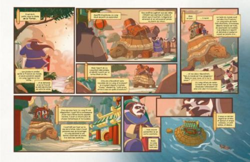 World of Warcraft : La perle de Pandarie (0), comics chez Delcourt de Neilson, Galloway, Taffy