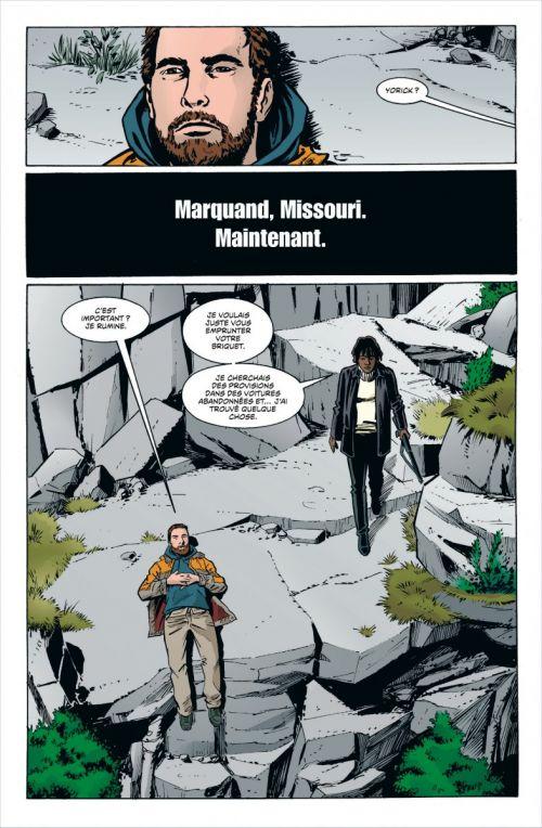 Y, Le Dernier Homme – Edition Hardcover, T2, comics chez Urban Comics de Vaughan, Parlov, Guerra, Chadwick, Zylonol, Rambo, Carnevale