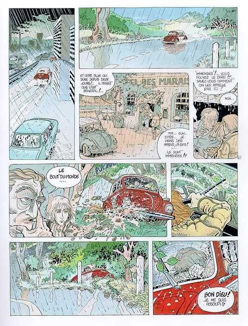 Balade au bout du monde – cycle 1, T1 : La prison (0), bd chez Glénat de Makyo, Vicomte