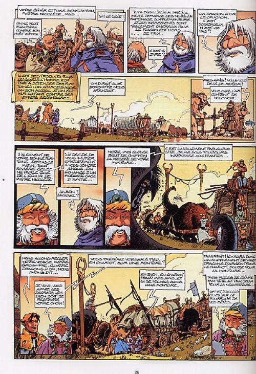 Lanfeust de Troy – cycle 2, T7 : Les pétaures se cachent pour mourir (0), bd chez Soleil de Arleston, Tarquin, Guth, Lamirand